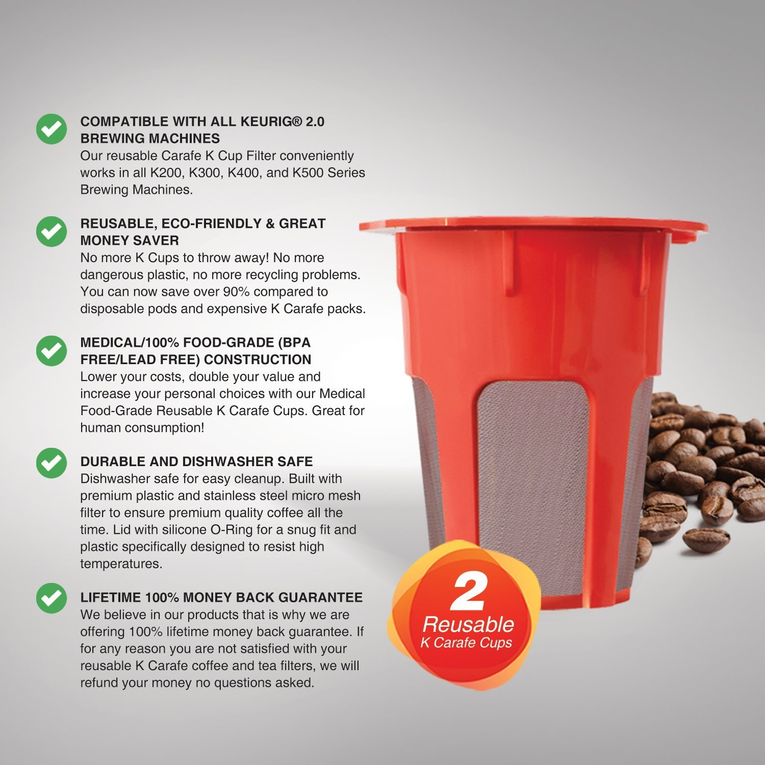 How to make good coffee with reusable k cup