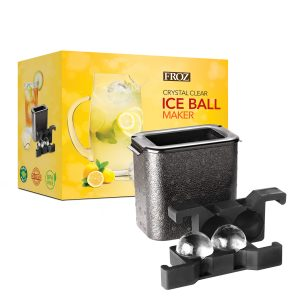 crystal clear ice mold
