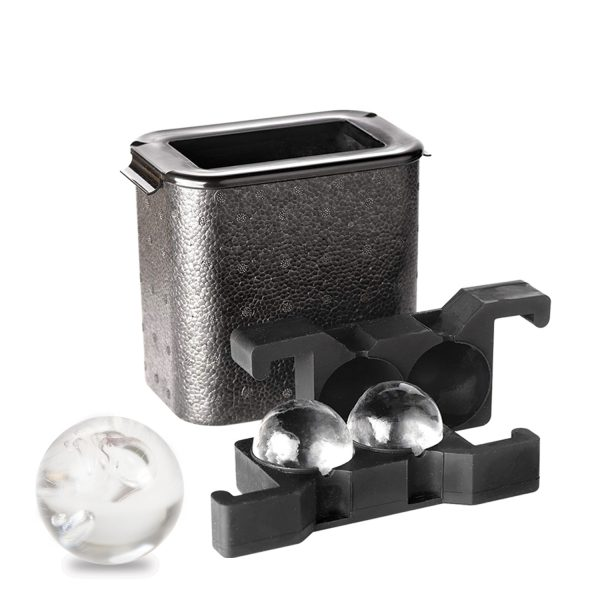 crystal clear ice ball maker
